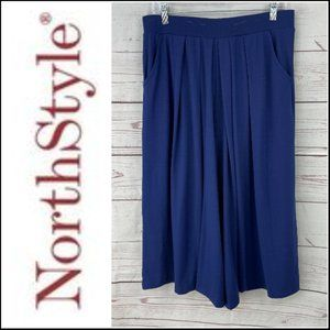 *3/$18*NorthStyle Women's Blue Culottes Size M
